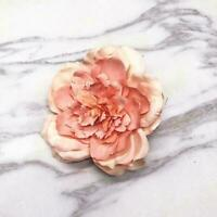 Large White Peony Artificial Flower Heads Silk Home Rose DIY Decor C6X3