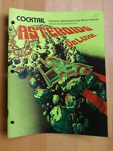 Asteroids Deluxe Manual