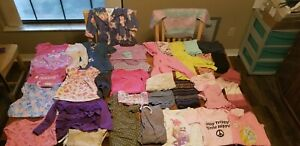 Lot of 34 girls clothes size 12 to 24 months