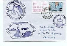 1995 Polarstern Wegener Inst Neumayer Station Bremerhaven Polar Cover REGISTERED