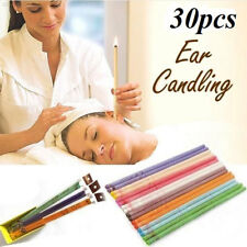 4246 30pcs Straight Ear Candle Bee Wax Medical Aroma Beewax Essential Oil Therap