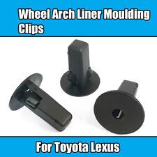 20x Clips For Toyota Lexus Wheel Arch Liner Moulding Bodywork Fastener Grommet