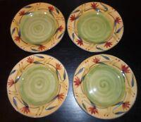 """(4) Pier 1 ELIZABETH  8"""" Salad Plates"""