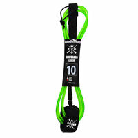 10' SUP Board Leash & Surfboard Leash mit Rail Saver|Stand Up Paddle Board Leash