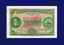 Mozambique Banknotes 1$00 Escudo 1921 P66S UNC (WITH DAMAGE) SPECIMEN