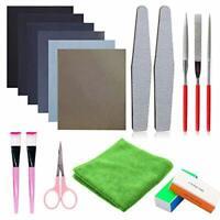 Woohome 17 PCS Resin Casting Tools Set Resin Polishing Kit, Sand Papers,