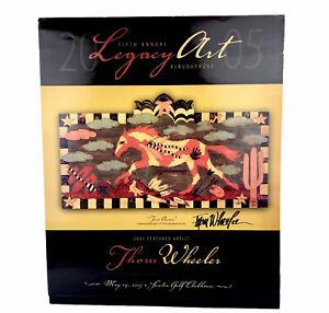 Legacy Art Albuquerque Southwestern Twin Arrows Thom Wheeler Signed Poster 2005