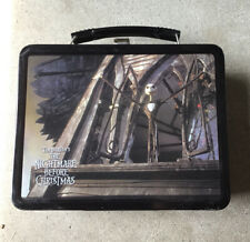 Because Nightmare Before Christmas Metal Lunch Box With Thermos Limited Edition