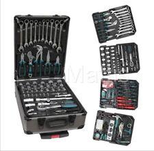 187 Piezas profesional de alta calidad caja de herramientas sobre ruedas. 4 Bandejas de herramientas.