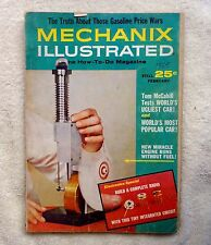 MECHANIX ILLUSTRATED MAGAZINE Back Issue FEBRUARY 1965