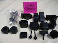 1968-72 68, 69, 70, 71, 72 CHEVY II, NOVA 2 DOOR RUBBER BUMPER KIT