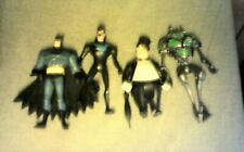 DC BATMAN NIGHTWING  more 4 to 5 INCH 4 LOT ACTION FIGURES