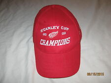 Detroit Red Wings 2002 Stanley Cup Champions Hat Cap Adult One Size NHL Hockey