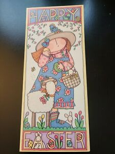 Leanin' Tree Sue Dreamer + Friends Easter Card with Envelope