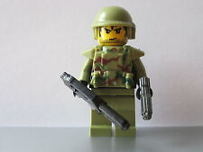 Lego MODERN WARFARE Olive Green CAMO Series MINIFIG Military NEW