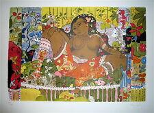 Henri SANDOZ Lithographie sur velin signée numérotée Femme Erotic