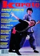 8/85 KARATE ILLUSTRATED MAGAZINE BRUCE LEE DOC FAI WONG KUNG FU MARTIAL ARTS