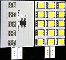4x 12 VOLT T10 JAYCO LED LIGHT INSERT pop top caravan boat car 4wd 4x4 camping