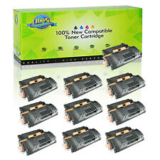 10PK CE390X 90X Toner For HP LaserJet M4555f Enterprise 600 M602dn M603dn M603n