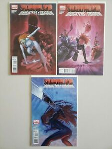 Shadow And Daughters Of The Shadows Maese Henderson 2010 Set Series Run - VF/NM