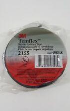 3M Temflex Rubber Splicing Tape 2155 Rubber Insulating Tape 3/4in x 22ft x0.30in