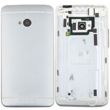 Original Silver Battery Back Door Cover Case Housing Replacement For HTC One M7
