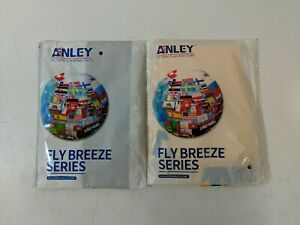 Anley Fly Breeze 3x5 Don't Tread On Me Flag & Thin Blue Line USA Flag 2-Pack NEW