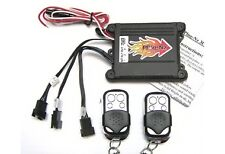 Plug in remote LED lights for Motorcycle Multicolored
