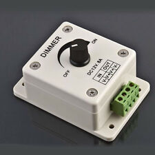 12V 8A PIR Sensor LED Strip Light Switch Dimmer Brightness Controller New