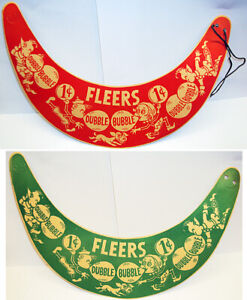 1930's/40's Fleer Bubblegum Promotional Cardboard Visors