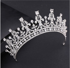 Princess Bridal Rhinestone Crystal Wedding Hair Tiara Crown Prom Headband
