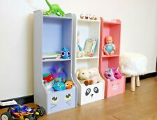 Kids Storage Unit Toy Box Book Shelf Novelty Nursery Bedroom Cat Panda Pig