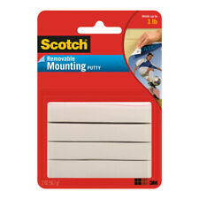 Mounting Putty, Removable 2 oz., White