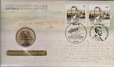 Australia Stamps 2013 Ludwig Leichardt Joint Issue Germany PNC