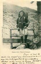 Carte Militaire Chasseur Alpin du 22 ème Bataillon Tenue de Campagne