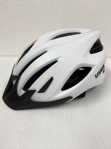 New Uvex Viva 3 MTB Cycling Helmet White 56-62cm
