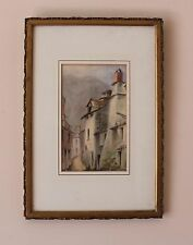 Kathleen Morescaux RKA RWS 1908 Irish Artist Watercolour Italian Street Scene