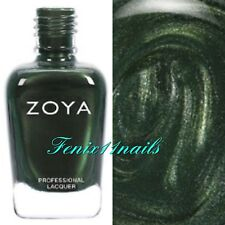 ZOYA ZP914 TABITHA hunter green pearl nail polish ~ SOPHISTICATES Collection New