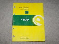 John Deere Used 9300T & 9400T Tractor Ser # 901001 & Up Operators Manual B5