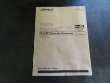 Caterpillar CAT PS-360B Pneumatic Compactor Parts Manual  KEBP0191-22  9LS