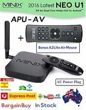 MINIX NEO U1 Android 5.1.1 TV Box S905 Quad-core 64 Bit Bonus A2 Lite Air mouse