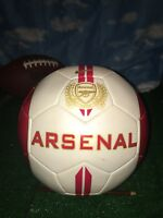 Arsenal Nike Gunners 125 Anniversary Red and White Official Soccer Ball Size .5