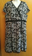 Cj Banks Dress Size 16 - Black & White NWOT