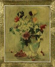 """""""Stillleben  - Blumen und Kirschen"""""""