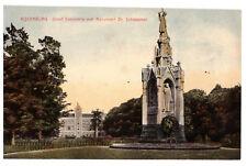 Rijsenburg Groot Seminarie met Monument Dr Schaepman Rare Vintage Postcard 1920