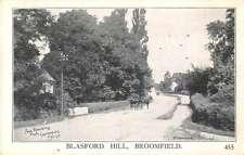 Broomfield England Blasford Street Scene Antique Postcard J48822