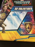Guardians Of The Galaxy Vol. 2 Valentines Day Cards 32 count