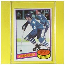 MICHEL GOULET  1980-81  ROOKIE   Topps  #67     Quebec Nordiques     LOT B