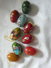 Vintage  Pasnke Hand Painted Easter Eggs