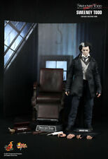 Hot Toys 1/6 Sweeney Todd Johnny Depp w/Barber Chair w/ Backdrop in Shipping Box
